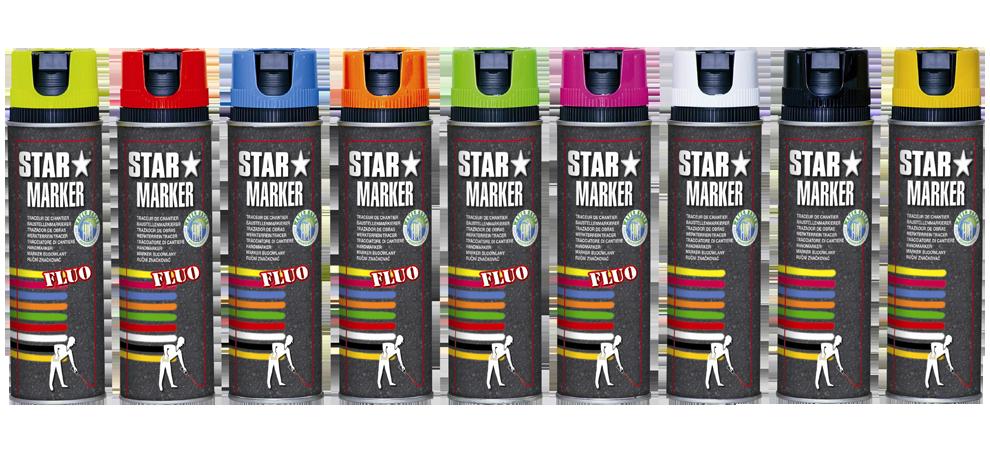 Traceur de chantier STAR MARKER