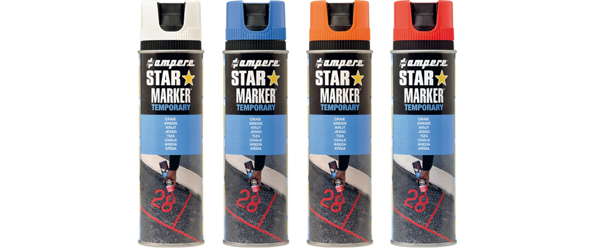 http://Kreidespray%20STAR%20MARKER®%20TEMPORARY