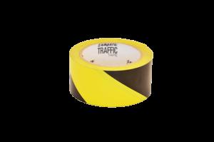 Bodenmarkierungsband Traffic Tape Gelb, Schwarz Serie 1