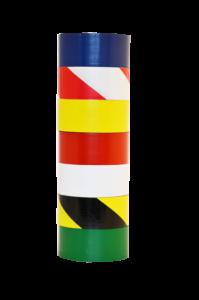 Floor marking tape column