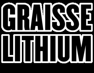Graisse Lithium