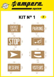 parking stencils