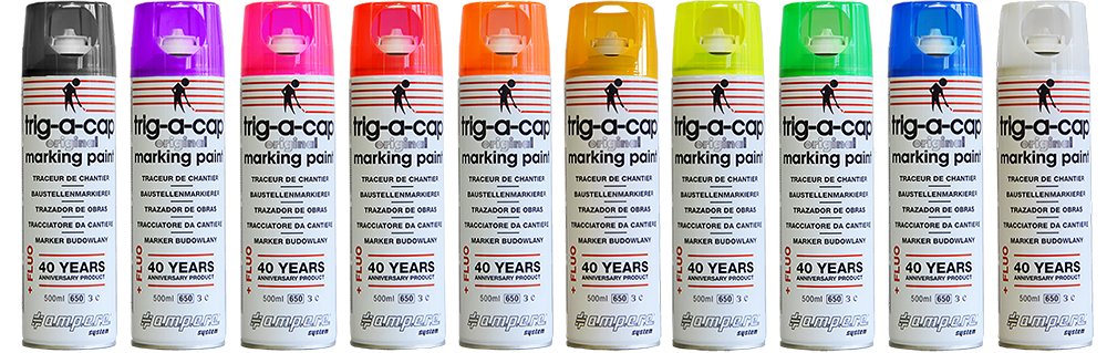 Fluo Marking Paint to public works