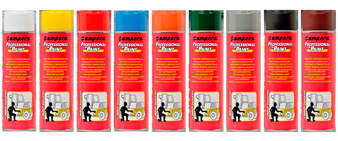 Peinture professionnelle en aerosol