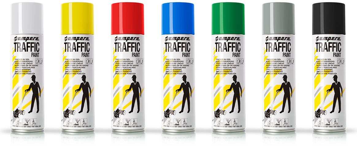 Bodenmarkierfarbe Traffic Paint