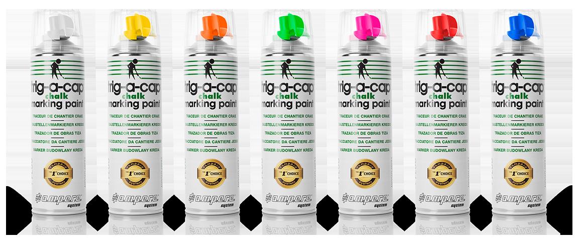 Farba do znkowania na bazie kredy TRIG-A-CAP Chalk
