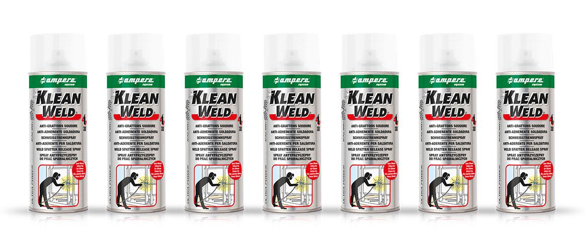 Anti adherent soudure-klean weld