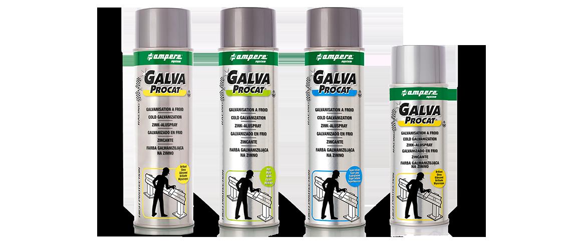 Cold galvanization spray